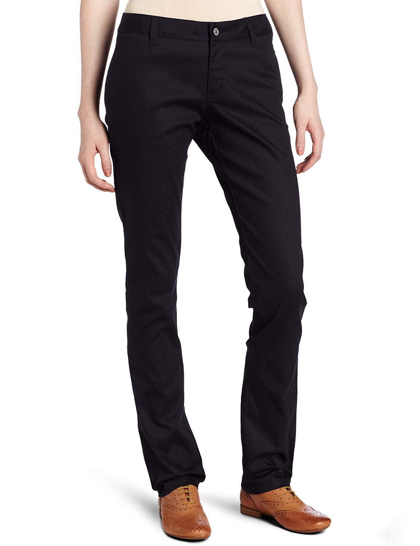 Flex skinny straight fit work pants