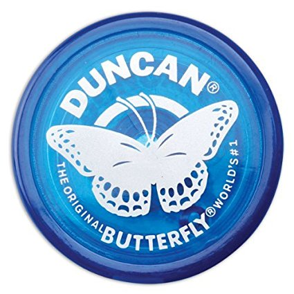 Duncan Butterfly Blue Yo Yo - Flying Squirrel Yo Yo