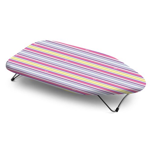 Bonita Trendy Stripe Mini Table Top Ironing Board by