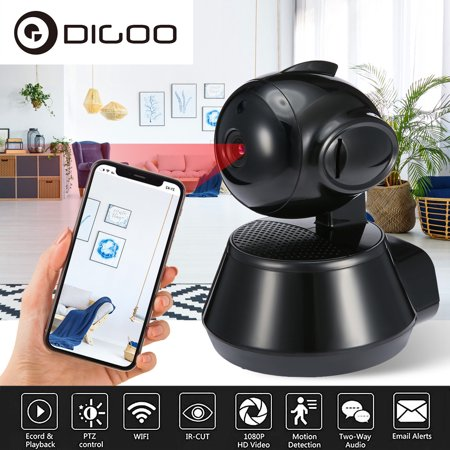 DIGOO 1080P FHD Wireless WIFI IP Cameras Security System for Home Baby Pet  Monitor with Night Vision Two Way Audio CCTV Smart Home Security Video
