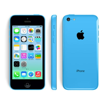 Refurbished Apple iPhone 5c 16GB, Blue - Unlocked GSM (B-GRADE)