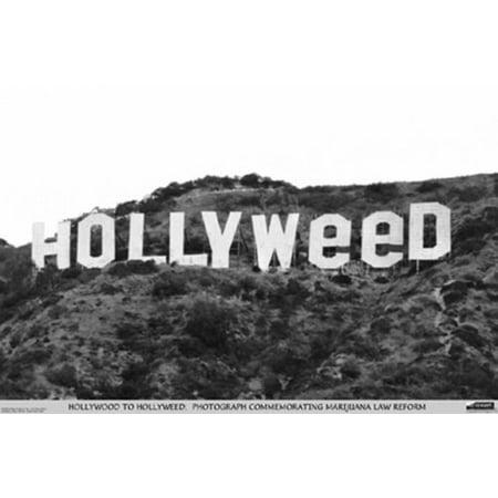 Hollyweed Poster Poster, Parody art image By Studio B (Halloween Parody Art)
