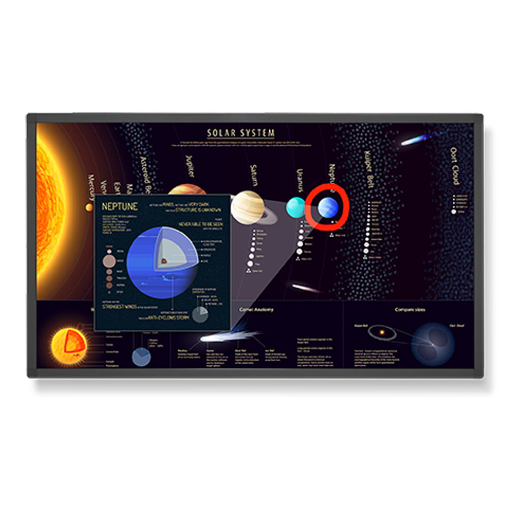 "Nec Display 65"" Large Format Touch Display"