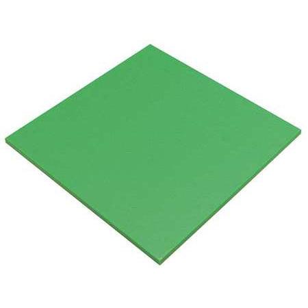 POLYMERSHAPES Cuting Board,48 In  W,96 In  L,1/2 In  T, 22JM92