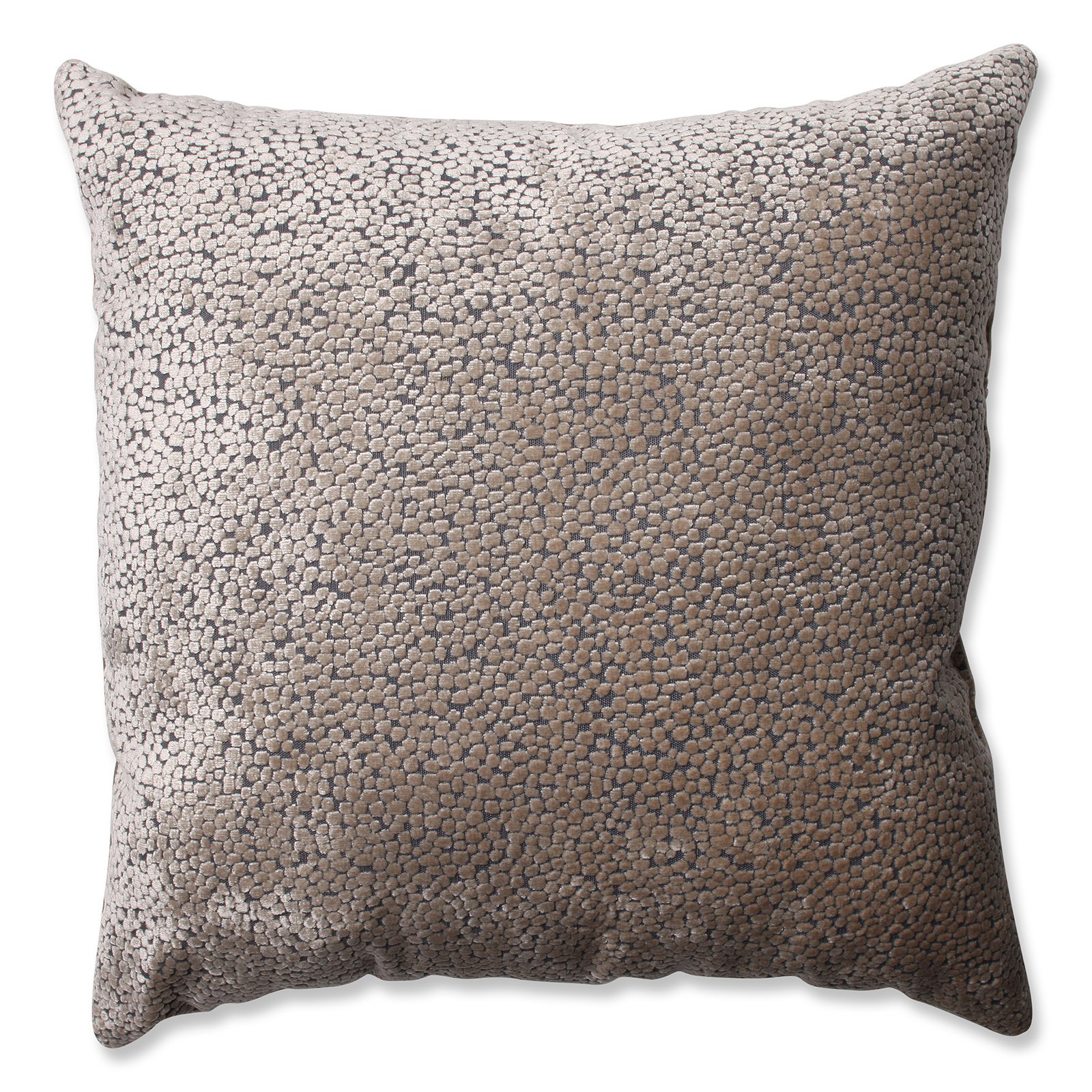 Pillow Perfect Tuscany Dots Flax Floor Pillow