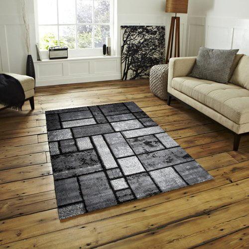 Ebern Designs Apodaca Dusty Brick Gray Area Rug