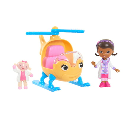 Doc Mcstuffins Set (Doc Mcstuffins Toy Hospital Vehicle Set - Doc and)