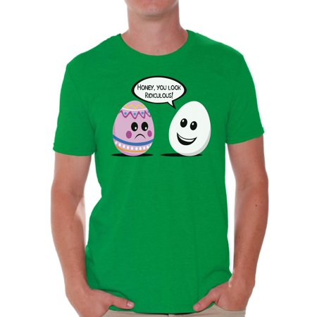 Awkward Styles Honey You Look Ridiculous Shirt Easter T Shirt Men Funny Easter Eggs Shirt Easter Egg Hunt Outfit Easter Outfit Easter Holiday Party Shirt Easter Egg Tshirt Easter Gifts for (Holiday Easter Gift)