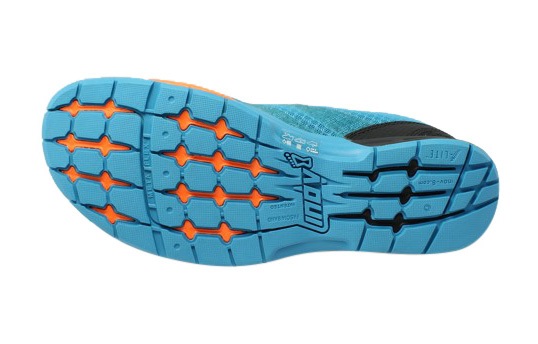 Inov-8 Men's F-lite 250 Performance Training Shoe, Blue/Grey/Orange, 12.5 D US