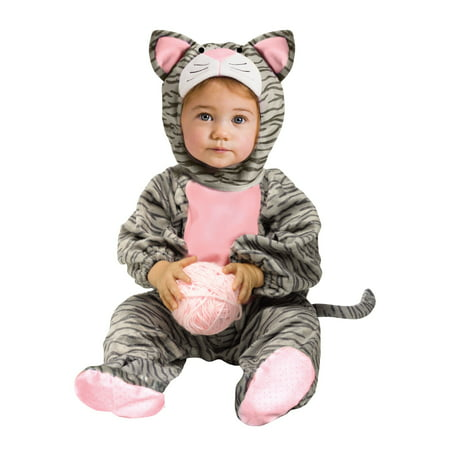 Toddler Striped Gray Kitten Costume
