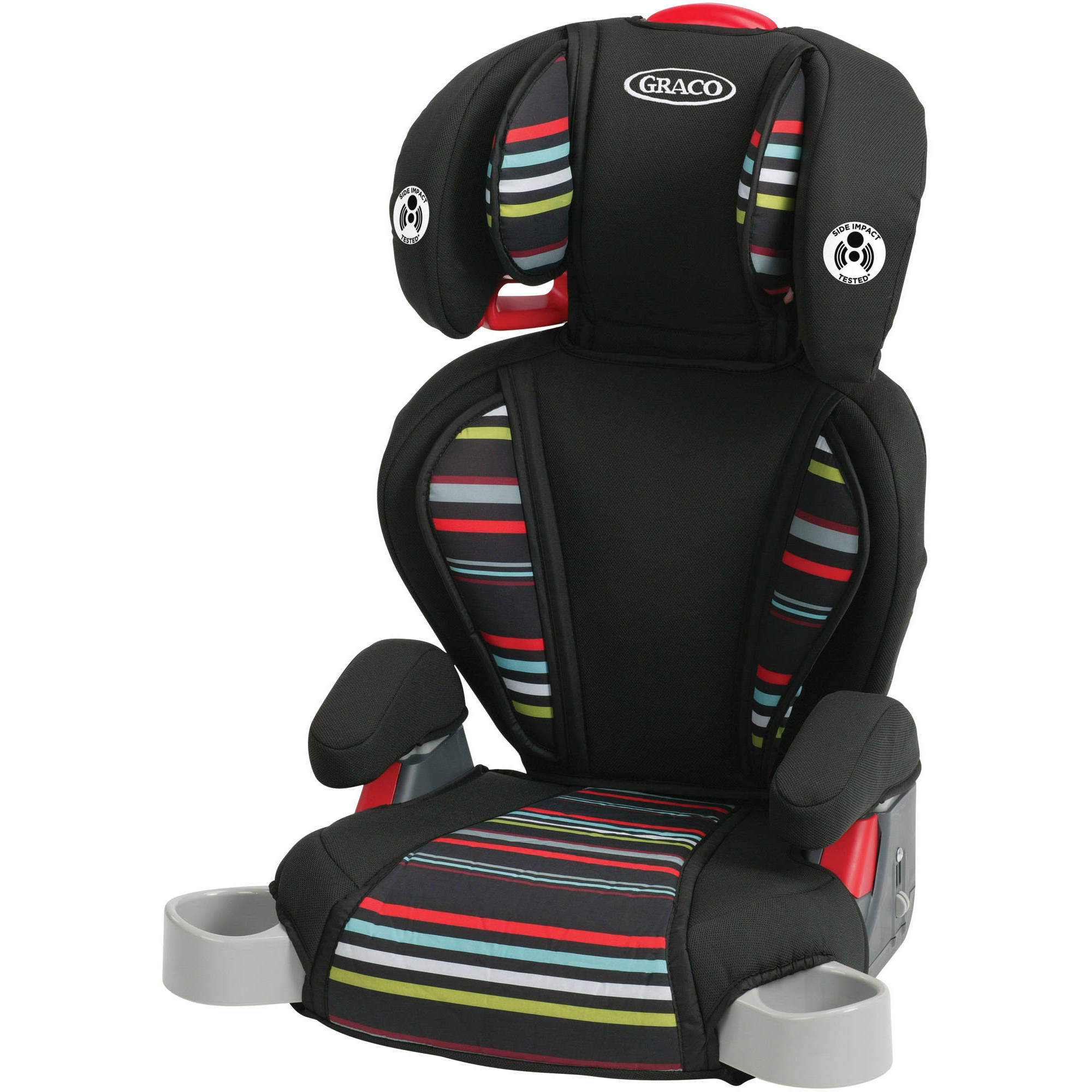 Graco Highback TurboBooster Booster Car Seat, Landmark