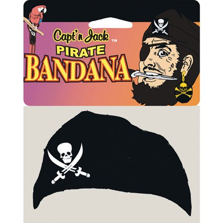 Pirate Jack Head Bandana Halloween Accessory - Best Halloween Shop