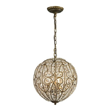 New Product ELK Lighting The Elizabethan 5 Light Pendant In Dark Bronze 15974/5 Sold By VaasuHomes