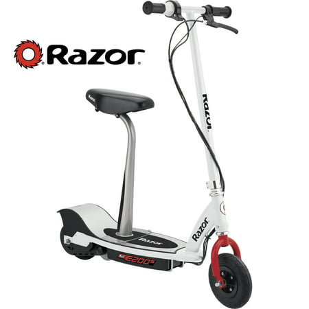 Razor E200S Electric Scooter - White/Red