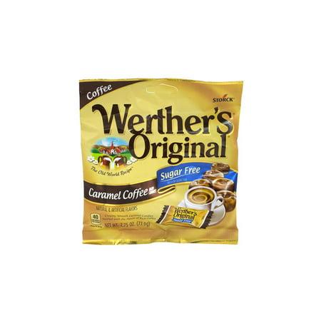 - Werther's Original Hard Candies Caramel Coffee Sugar Free, 2.75 oz, 3 Pack