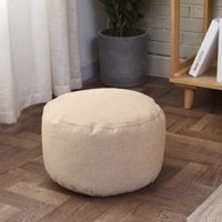 Sofa Sack Cover No Filling - Bean Bag Footstools Foot Rest Stool Pouffe Ottoma-Ultra Soft Home Bean Bag Chair - Memory Foam Bean Bag Chair-Furnitout Ottoman Bean Bag Cover