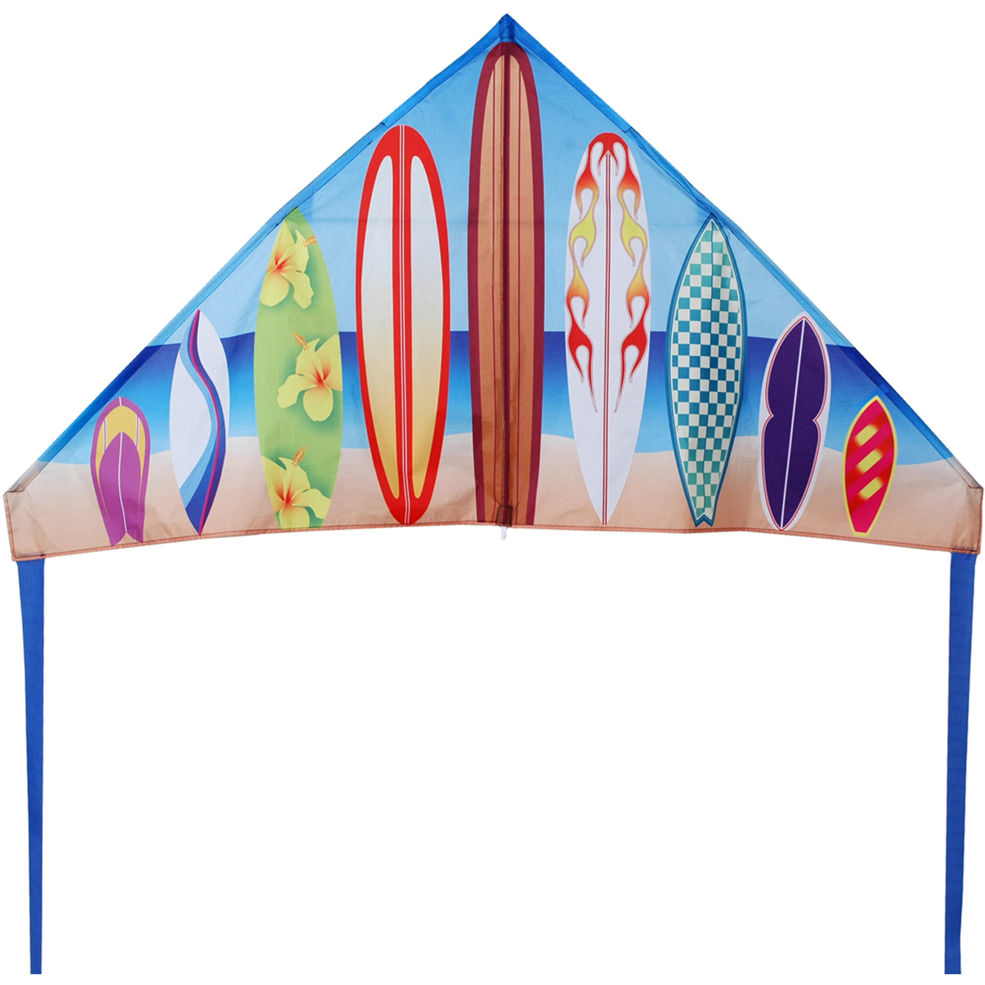 "Premier Designs 56"" Stream Delta Kite, History Surf"