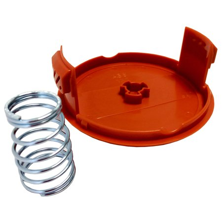 Spool Cap & Spring to Fit Black & Decker Weed Eater Trimmer Dual