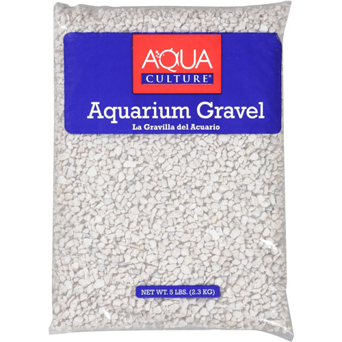 Aqua Culture White Chips Aquarium Gravel, 5 lb