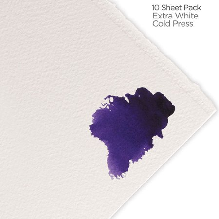 "Fabriano Artistico Watercolor Paper 300 lb. Cold Press 10-Pack 22x30"" - Extra White"