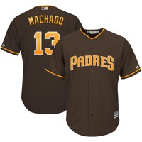 Manny Machado San Diego Padres Majestic Youth Official Cool Base Player Jersey - Brown