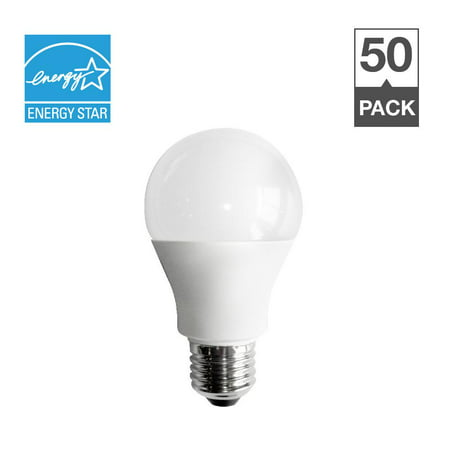 - Simply Conserve 3 Way LED Light Bulbs, 4/8/14W (40/60/100W Equiv) Dimmable, Warm White, 50-Count