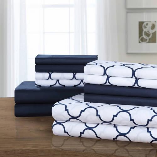 Chic Home Tymon 12-Piece Sheet Set with 2 Bonus Pillowcases