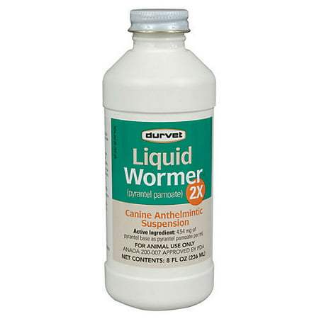 Liquid Dog Wormer - LIQUID WORMER 2X
