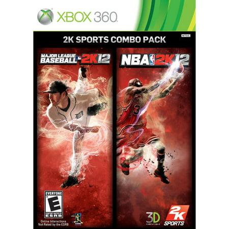 Mlb 2K12 Nba 2K12 Combo Pack   Xbox 360