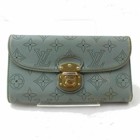 Louis Vuitton Mahina Perforated Monogram Leather Amelia Long Flap Wallet 871216