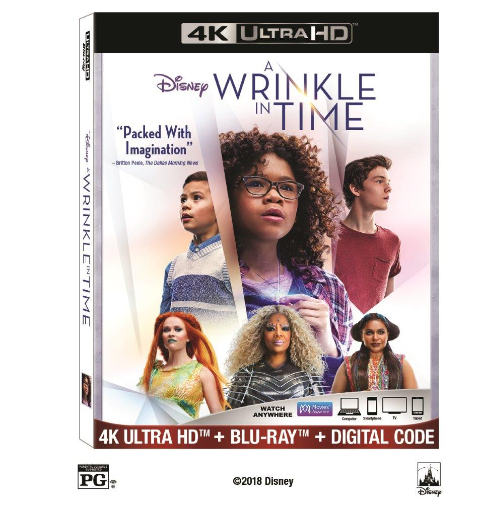 A Wrinkle in Time (4K Ultra HD + Blu-ray + Digital Code) by