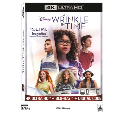 A Wrinkle in Time (4K Ultra HD + Blu-ray + Digital Code) - Happy Halloween 2017 Hd