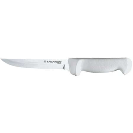 "Dexter 6 "" Wide Boning Knife White Handle"