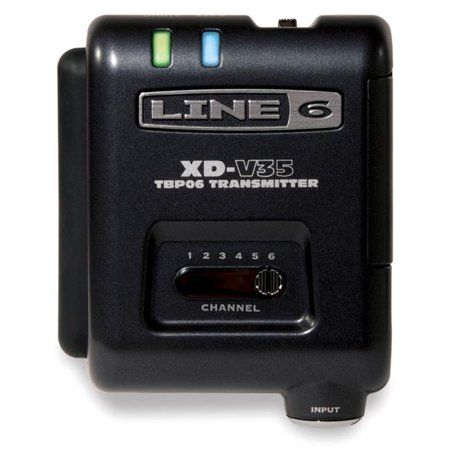 Line 6 118222 V35-BP 6-Channel Transmitter Bodypack Separate