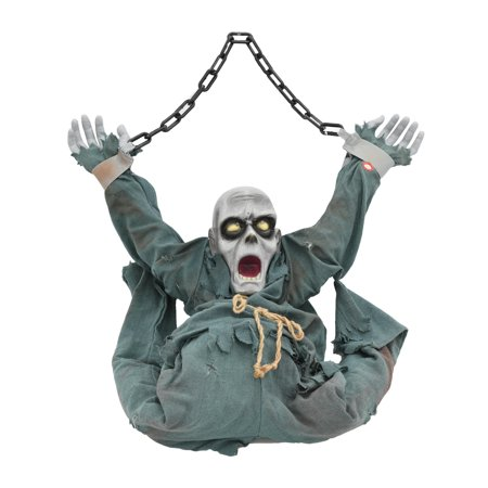 Hanging Zombie Halloween Decoration](Pics Of Zombies For Halloween)