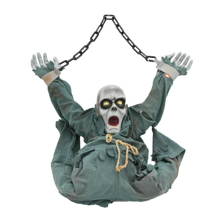 Halloween Hanging Zombie Decoration - Easy Make Halloween Decorations Yard