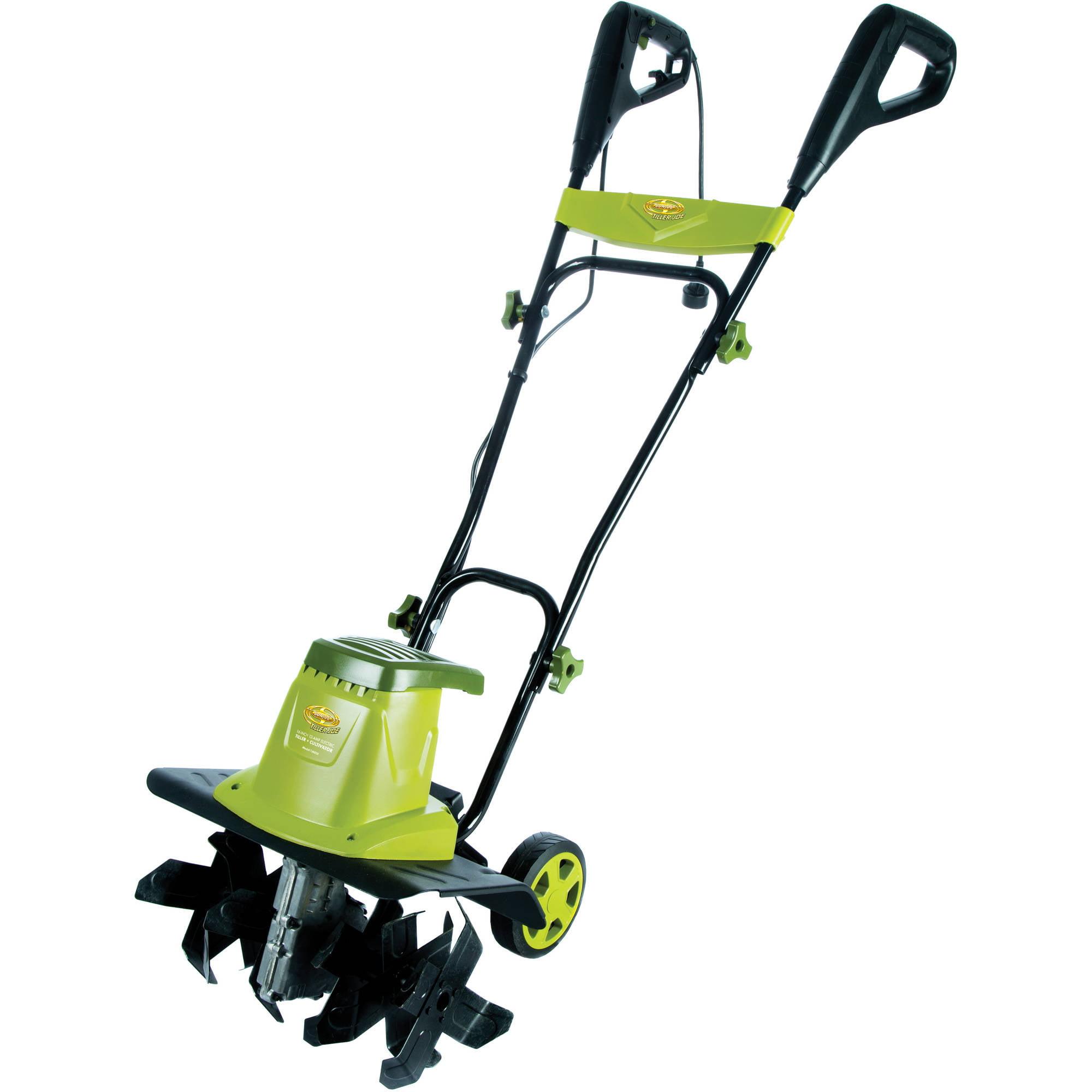 "Sun Joe Tiller Joe 16"" 12-Amp Electric Garden Tiller/Cultivator – TJ603E"