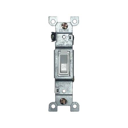 BYBON 15 AMP Single Pole Toggle Switch, UL listed (10 Pack)
