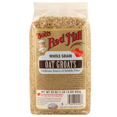 Bob's Red Mill, Whole Grain Oat Groats, 29 oz (pack of