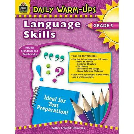Daily Warm Ups (Daily Warm Ups! Language Skills Grade)