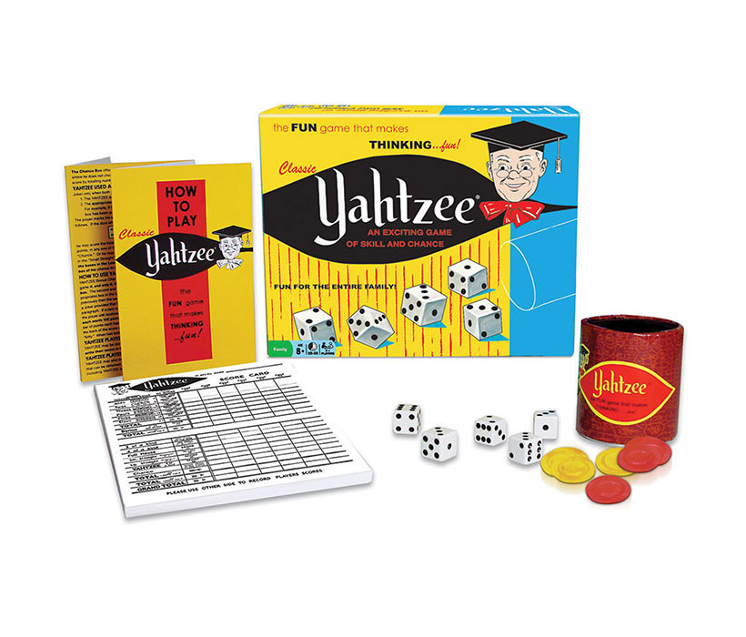 Family Board Game and Portable Family Game Set Classic Yahtzee and Guess Who Board Game and Scrabble to Go... by Mozlly