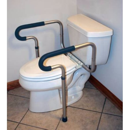 Wondrous Mckesson Toilet Safety Frame Sunmark Aluminum 133 0406 Spiritservingveterans Wood Chair Design Ideas Spiritservingveteransorg