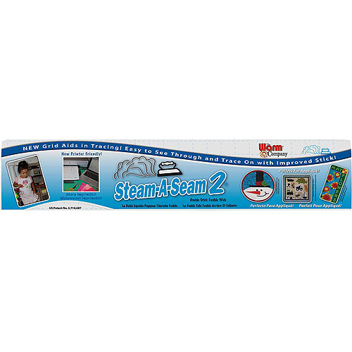 "Steam-A-Seam 2 Double Stick Fusible Web, 24"" x 25 yds"