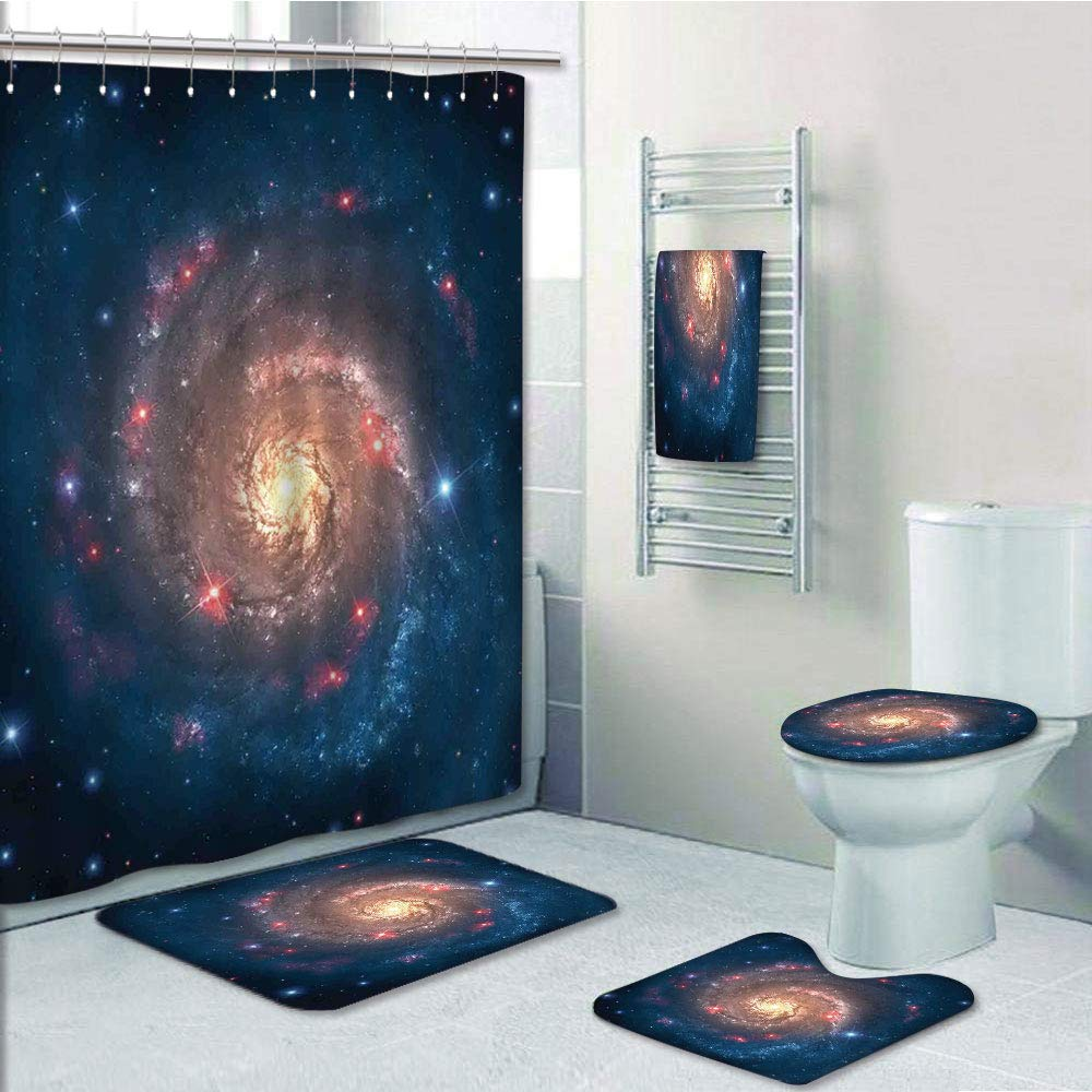 GALAXY Collection Planet Flower Peach Table Lamp