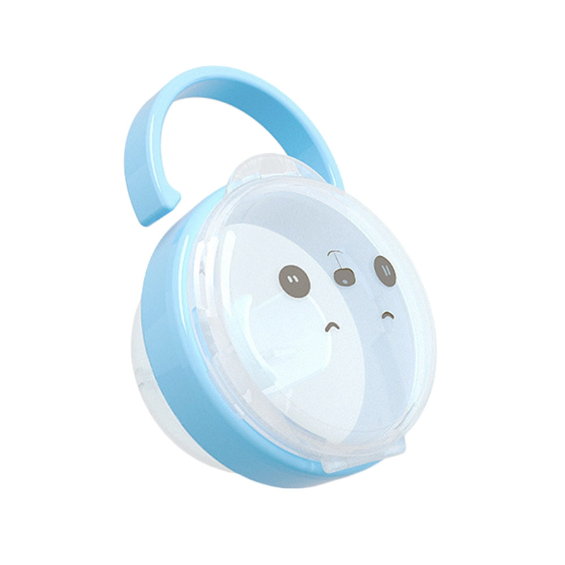 New Baby Nipple Dummy Soother Pacifier Care Baby Container Box Travel Storage