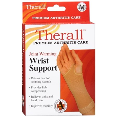 Therall Joint Warming Wrist Support Medium 1 Each