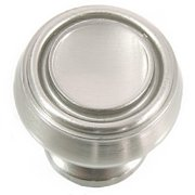 MNG Hardware 85028 Balance Knob, 1-1/4', Satin Nickel