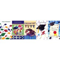 Assorted Graduation Greeting Cards 30 Pack