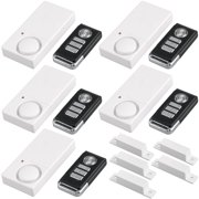 5-pack Wireless Anti-Theft Remote Control Magnetic Sensor Door Window Home Entry Security Burglar Bell Alarm
