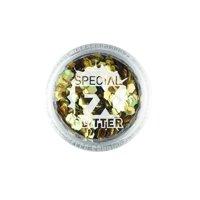"3.5"" Gold Confetti Glitter Women Adult Make Up FX"